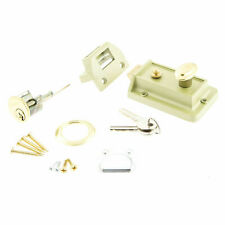 champagne NLS101B Sterling Standard Nightlatch 60mm