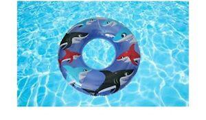 INTEX-Tube-Inflatable-Swimming-Beach-Pool-Float-36-034-Ring-Shark