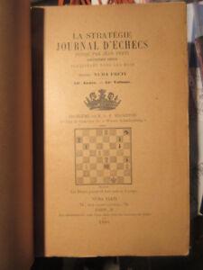 La-Strategie-Journal-d-039-echecs-1901-complet-12-numeros-396-pages-Numa-Preti