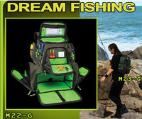 Fishing Tackle Bag Back Pack Waterproof Shoulder Box Storage Case