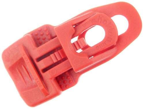 MIDI CLIP ROT Spann Fix Spanner Klammer Molton Planen Folie Banner Klemme Clips