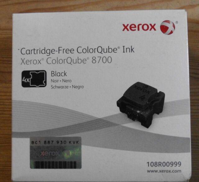 Original Xerox  108R00999 ColorQube Ink  8700  black   OVP B