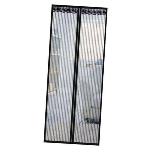 Magnetic Screen Door with Heavy Duty Mesh Curtain and Full Frame Ventilate