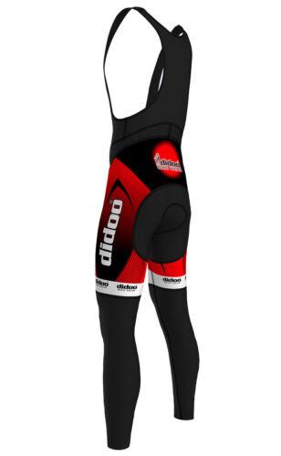 Didoo New Mens Cycling Bib Tights Winter Thermal Wear Long Pant Biking Trouser