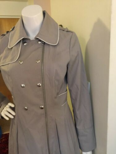 Jacket Coat Guess Rare Trench Grey M Rain Taille Ha5wdqr5Tn