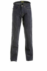 Draggin-Jeans-Sports-Raw-Blue-Denim-Kevlar-Motorcycle-Trousers-New-RRP-169-99