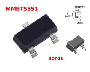 TRANSISTOR SOT-23 10x Transistor S8050 SS8050 S8050D NPN 40V 1,5A 1.5A 1500mA