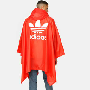 Dh5817 Originals Adidas Poncho Mens Trefoil Bright Red Small Extra RFxt7OFw