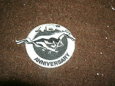 2004 FORD MUSTANG 40TH ANNIVERSARY JACKET HAT SHIRT FLOOR MATS PATCH NICE NEW