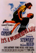 Its a Wonderful Life Vintage Movie 11x17 Poster