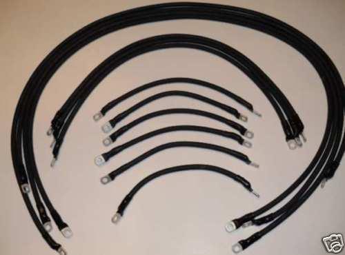 Batería Cable Set, Ez Go  Txt, 4 AWG Heavy Duty  alta calidad