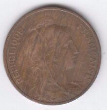 France 1917 5 Centimes, Bronze, Liberte Egalite Fraternite