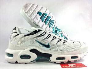 reputable site 55ca1 90f27 Image is loading 10-5-NIKE-AIR-MAX-PLUS-TN-White-