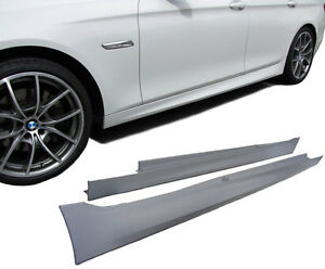 F-10-11-M-Sport-SIDE-SKIRTS-SIDESKIRTS-ABS-SILL-COVERS-Tech-Spoiler-SKIRT-Cover
