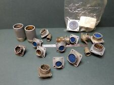 Amphenol Plugs And Socket Lot Mostly Used Everything Shown