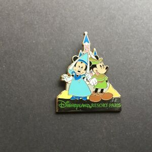 DLRP-Paris-Castle-Series-Mickey-amp-Minnie-Mouse-Disney-Pin-35049