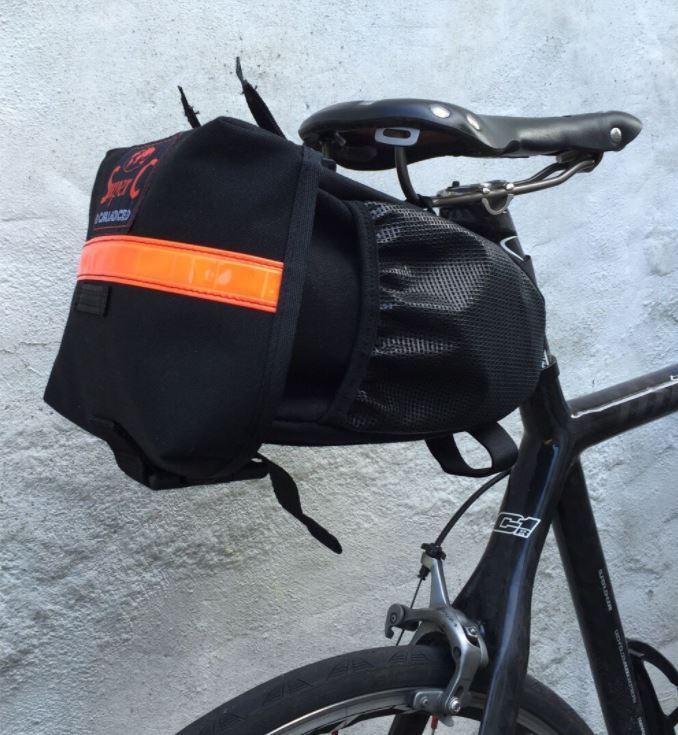 Cocheradice súper C Tela De Algodón Paquete De Sillín De Bicicleta-MTB, viaje, Audax, Tour