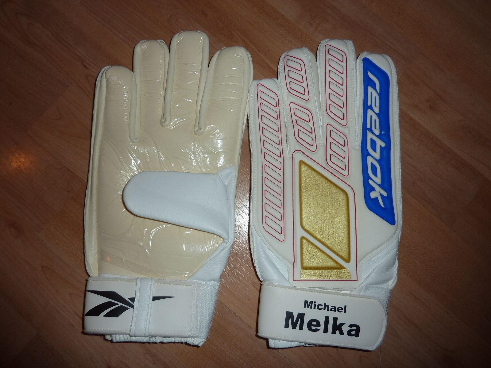 Michael Melka Fortuna Düsseldorf Torwart Handschuhe reebok (no (no (no Trikot)  neu OVP 366300
