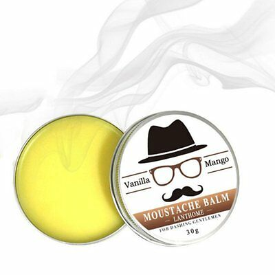 100% Natural Organic Styling Beard Wax Moustache Balm Beeswax Moisturizing EW