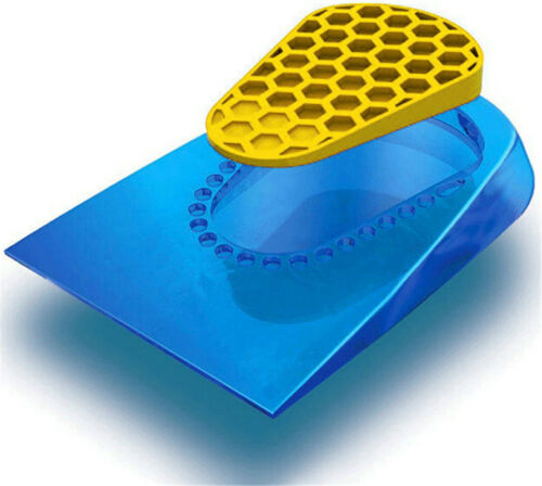 Silicone Gel Anti Heel Pain Pad Feet Cushion Insole High Elastic Care Shoe Pad