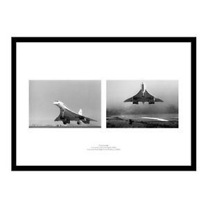 Concorde-First-and-Last-Flights-Aviation-Double-Photo-Memorabilia-STCONC2