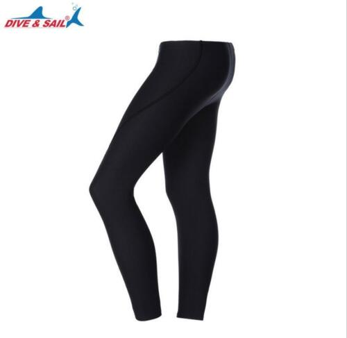 DIVE/&SAIL 3mm Neoprene Diving Pants Men Swimming Thick Wetsuit Submersible Trunk