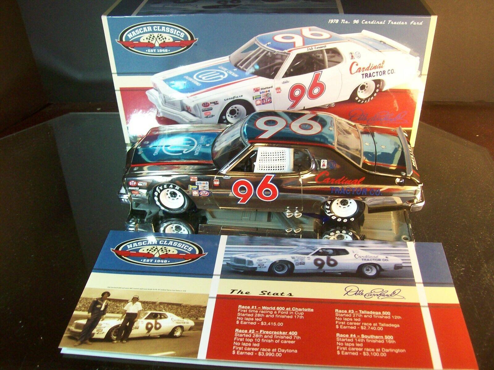 Dale Earnhardt  96 voituredinal Tractor Couleur Chrome 1978 Ford  Torino 1,296 1 24  meilleurs prix