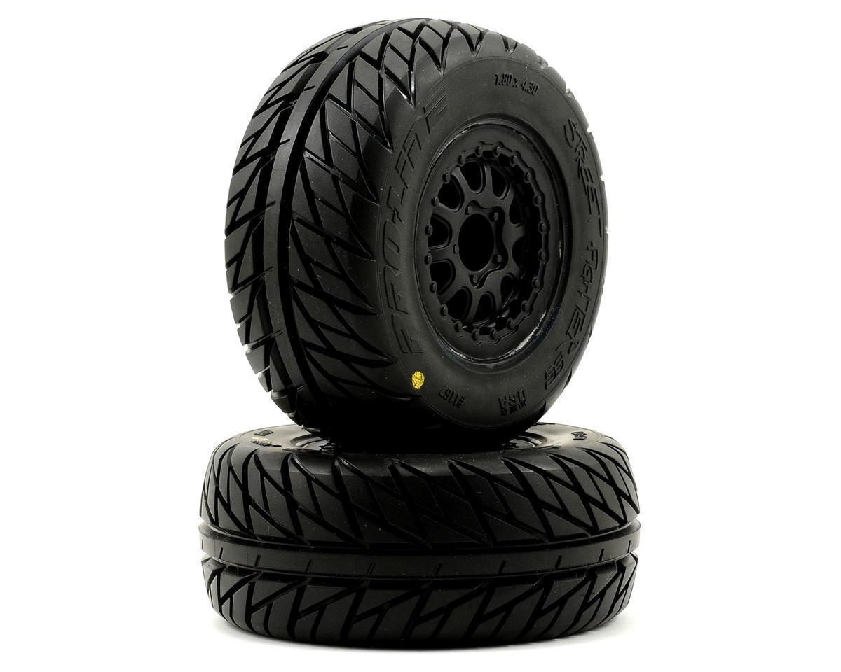 Pro-Line Street Fighter SC Tires w Renegade Wheels (2) (Slash Rear) (Bl (M2)