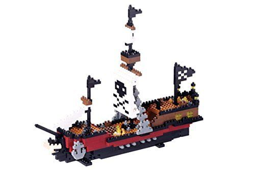 Nuevo Nano Bloque Barco Pirata Nbm-011 F / S