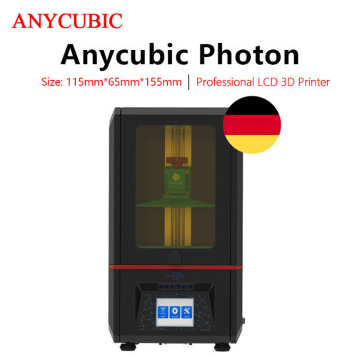 Eu Anycubic Photon Lcd Sla Stampante 3d Tft Touch Screen Resina Uv 115*65*155mm by Ebay Seller