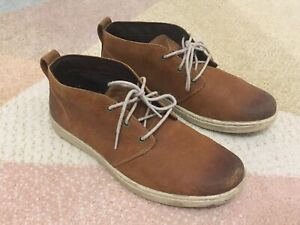 Timberland-boots-Tan-Brown-Earthkeepers-Chukka-Textured-Leather-Mens-Uk-9