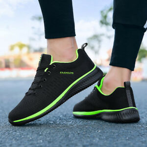 4b3ee7b438b Image is loading Men-Casual-Sports-Shoes-Gym-Athletic-Running-Sneakers-