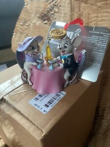 Disney-Store-The-Rescuers-Down-Under-Legacy-30-years-Sketchbook-Ornament-BNWT