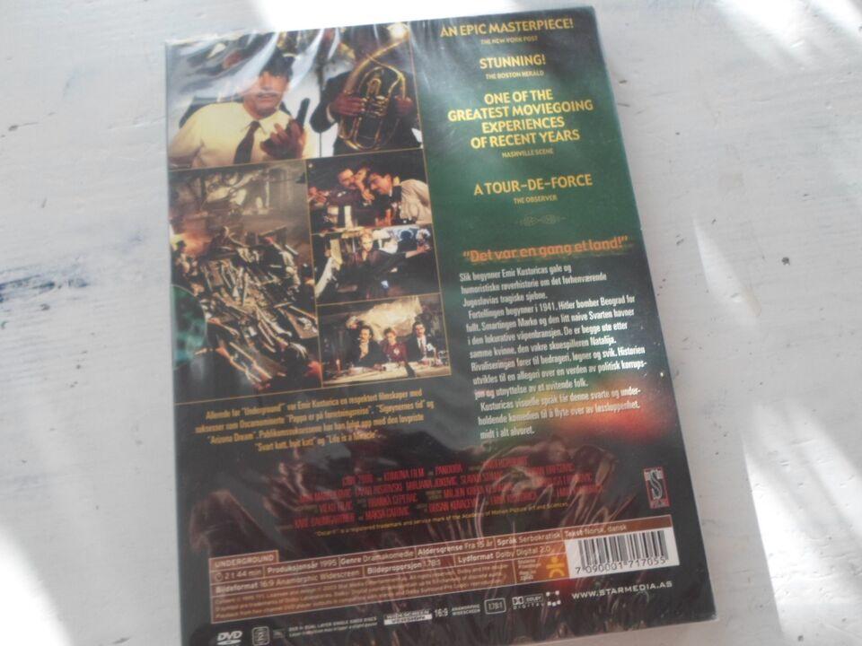 underground, instruktør emir kusturica, DVD