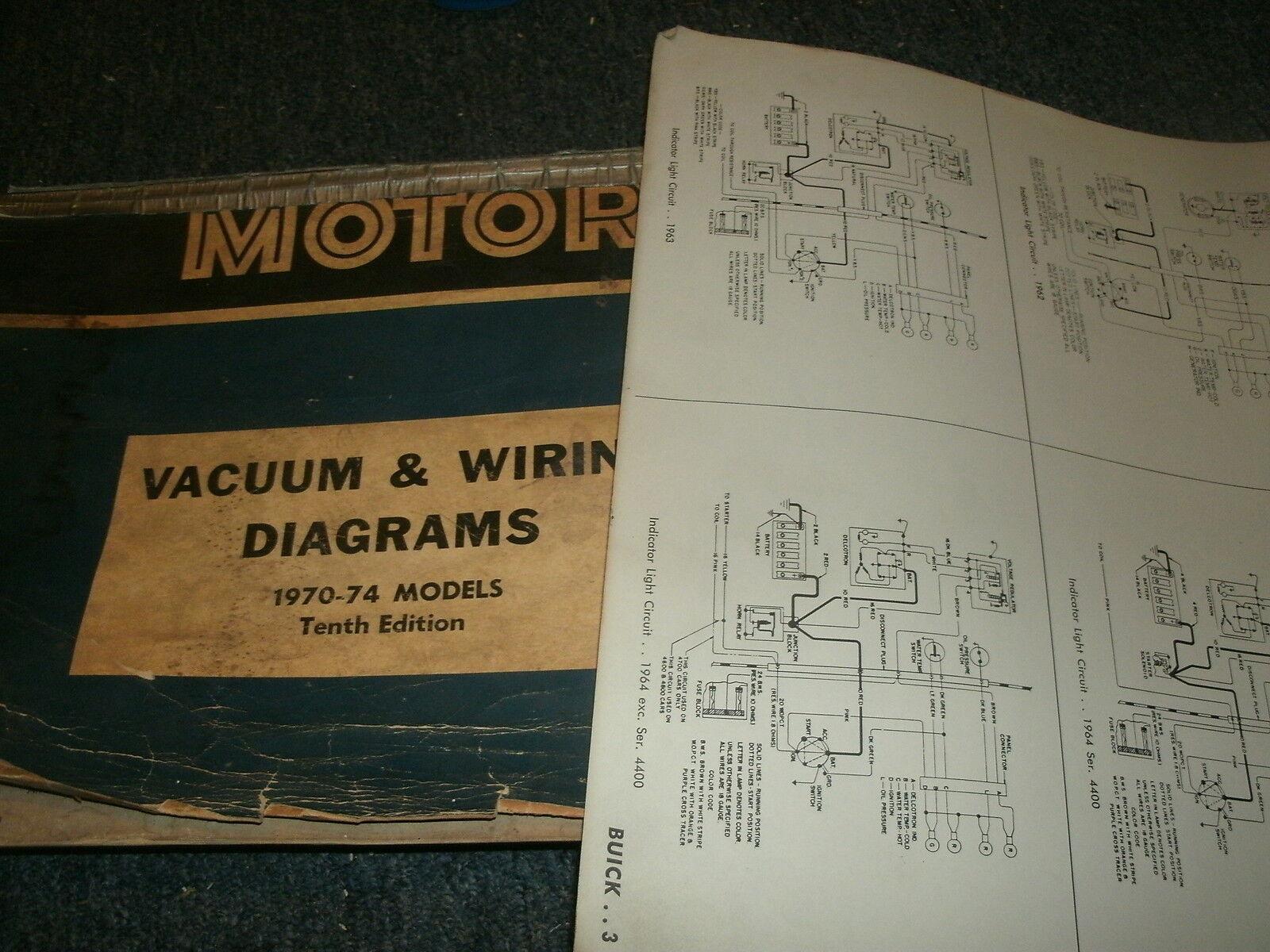 1974 FORD MUSTANG II WIRING VACUUM DIAGRAMS SCHEMATICS MANUAL SHEETS SET |  eBayeBay