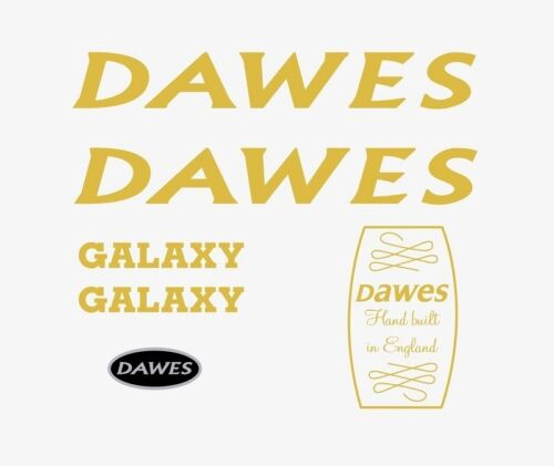 Dawes Galaxy Gold Decals-Transfers-Stickers #1