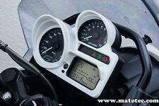 Weiss BMW R 1200 GS adventure hp 2 s r 1300 k tacho blende cover original rallye