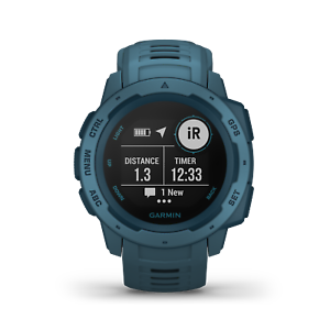 GARMIN-Outdoor-Smartwatch-Instinct-petrol-blue-blau-010-02064-04