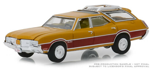 Greenlight Oldsmobile Vista Cruiser 1970 Gold Poly mit Holzmaserung 29950 C 1//64