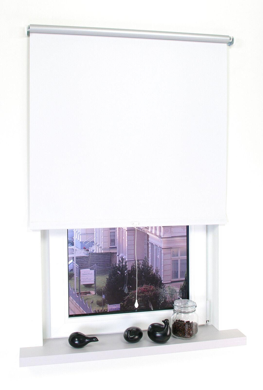 ThermGoldllo Fenster Verdunkelungsrollo Verdunkelungsrollo Verdunkelungsrollo Springrollo Mittelzugrollo Tür Rollo Weiß   Qualität Produkt  818b7e