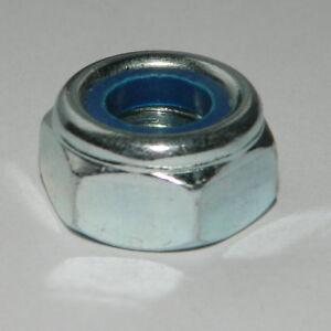 DIN 985 ISO 10511 selbstsichernde Muttern Stahl verzinkt von M3 bis M10