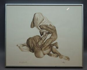 Bernd BOHMEIER geb. 1943 Bad Oeynhausen - Ausflucht - Nude Erotic Gay Interest