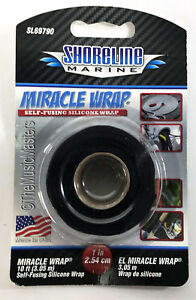 Self Fusing Silicone MIRACLE WRAP Emergency Repair Leak Sealing Auto Boat Tape