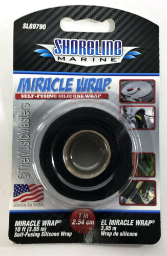 2X Self Fusing Silicone MIRACLE WRAP Emergency Leak Sealing Car Boat Repair Tape