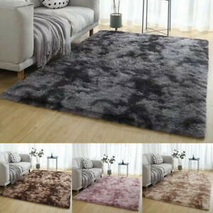 Shaggy-Fluffy-Rugs-Anti-Skid-Area-Rug-Dining-Room-Carpet-Home-Bedroom-Floor-Mat