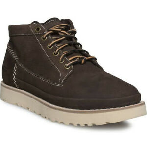 bee3a104604 Details about UGG CAMPFIRE TRAIL STOUT SUEDE BOMBER SHEEPSKIN MEN`S BOOTS  SIZE US 8.5 NEW