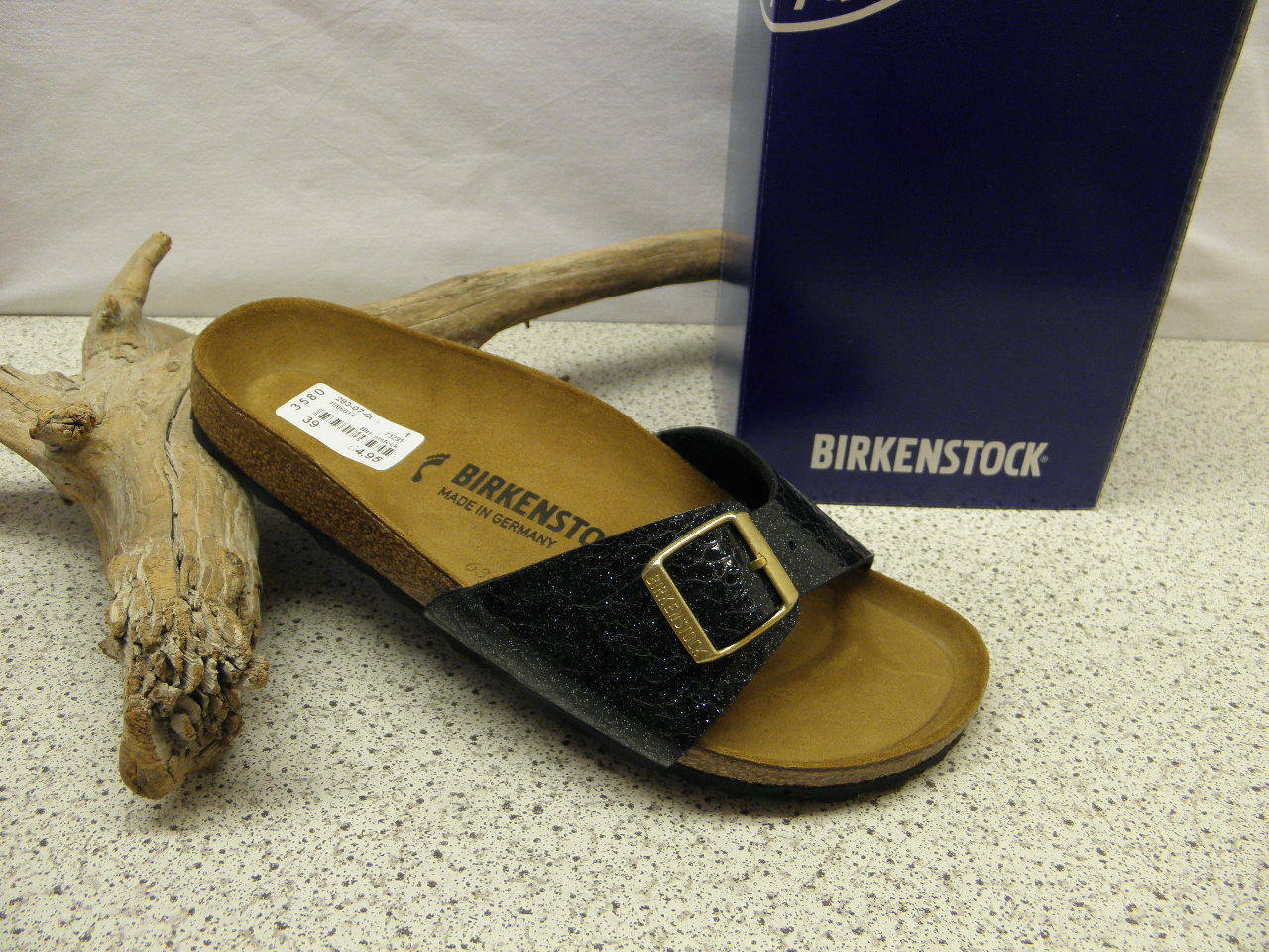 Birkenstock ® Top Preis  Madrid metallic Nr. 1006617 (Bi44)