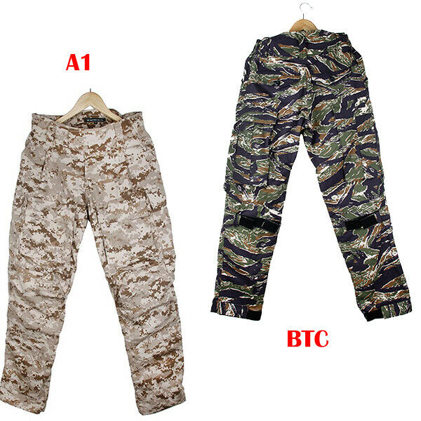 TMC2649 DF Mens Military tactical Combat Cargo training pants A1 BTC