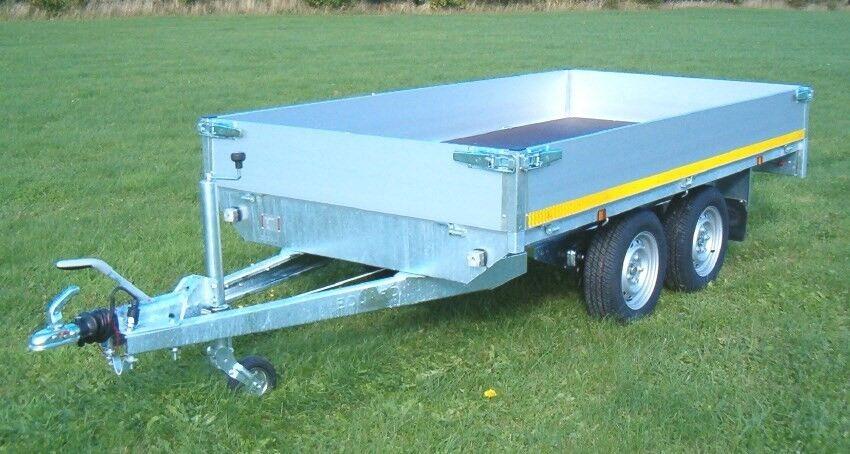 Boogietrailer, Eduard 3116-2000, lastevne (kg): 1570
