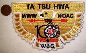 TA-TSU-HWA-LODGE-138-OK-PATCH-NOAC-2015-OA-100TH-CENTENNIAL-FLAP-GMY-GOLD-BIRD
